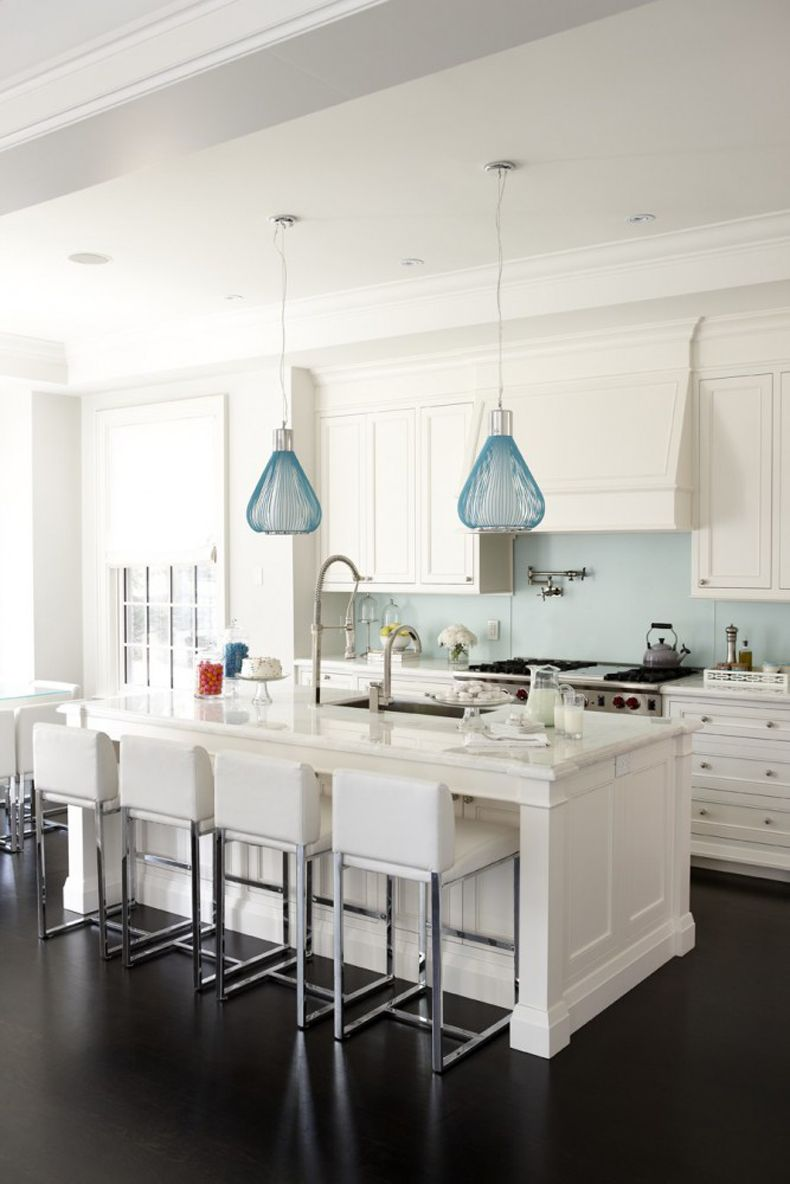 Blue Kitchen Pendant Lights