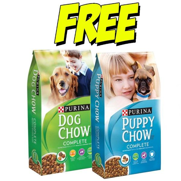 Free At Publix Purina Dog Chow Or Puppy Chow 4lb Bag Purina