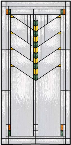 465 Inch W X 49 Inch H Tiffany River Of Life Stained Glass