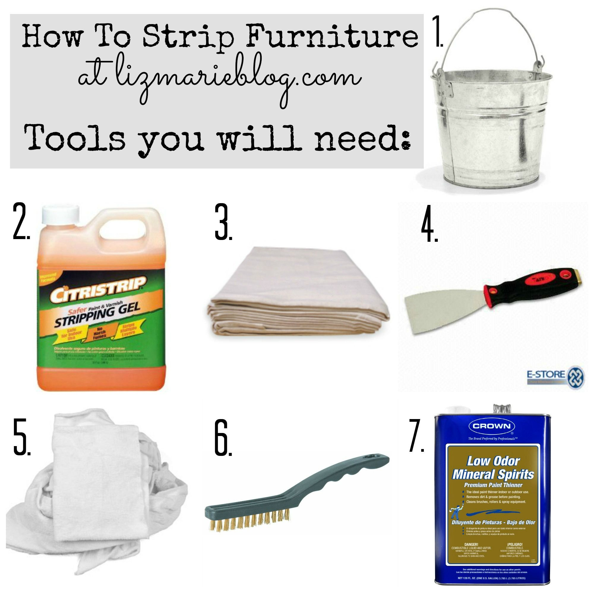 Diy Gel Stain Cabinets No Heavy Sanding Or Stripping: How To Strip Painted Furniture. I've Used The Paint
