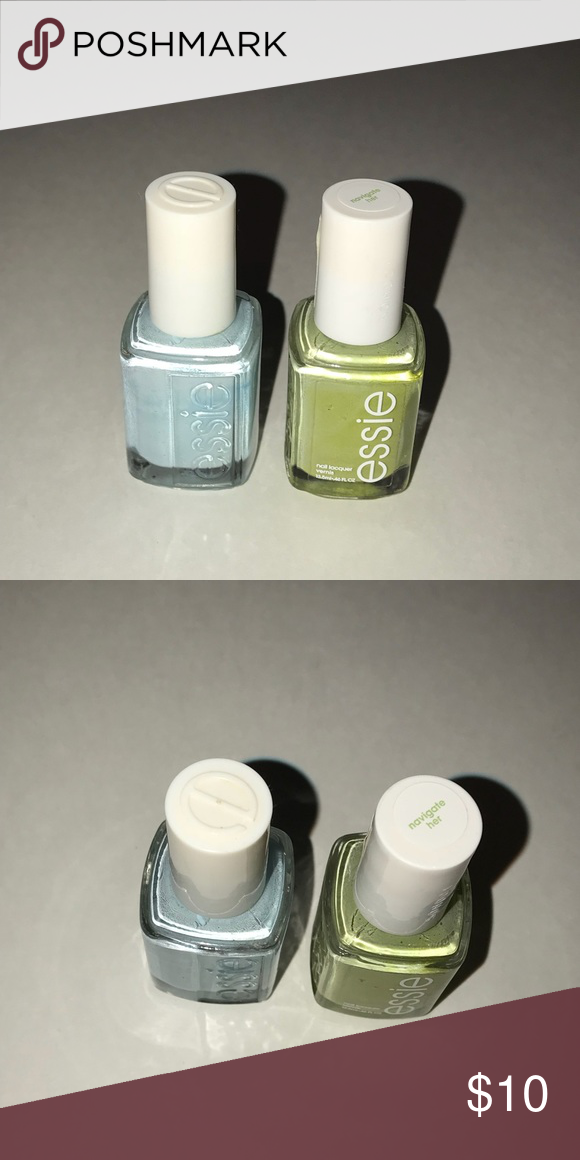 2 Essie Nail Polish mint candy apple and green 2 nail polishes by ...