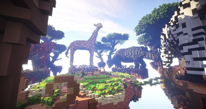 Ultimate Floating Survival Island Map 1710 and 172 Minecraft - copy flat world survival map download