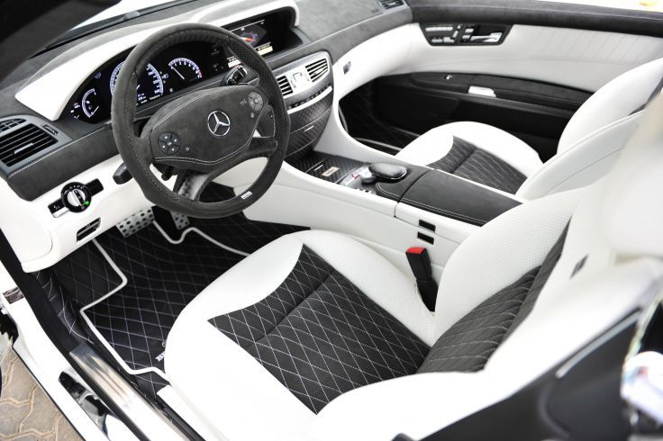 2011 BRABUS Mercedes Benz 800 Coupe tuning interior wallpaper background