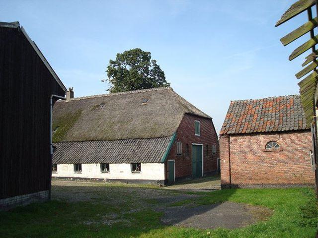 oorspronkelijke toestand boerderij de Prins, restaurant Vroeg in Bunnik