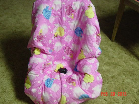 Princess Disney toddler car seat cover by littlestitches59, $38.00 ...
