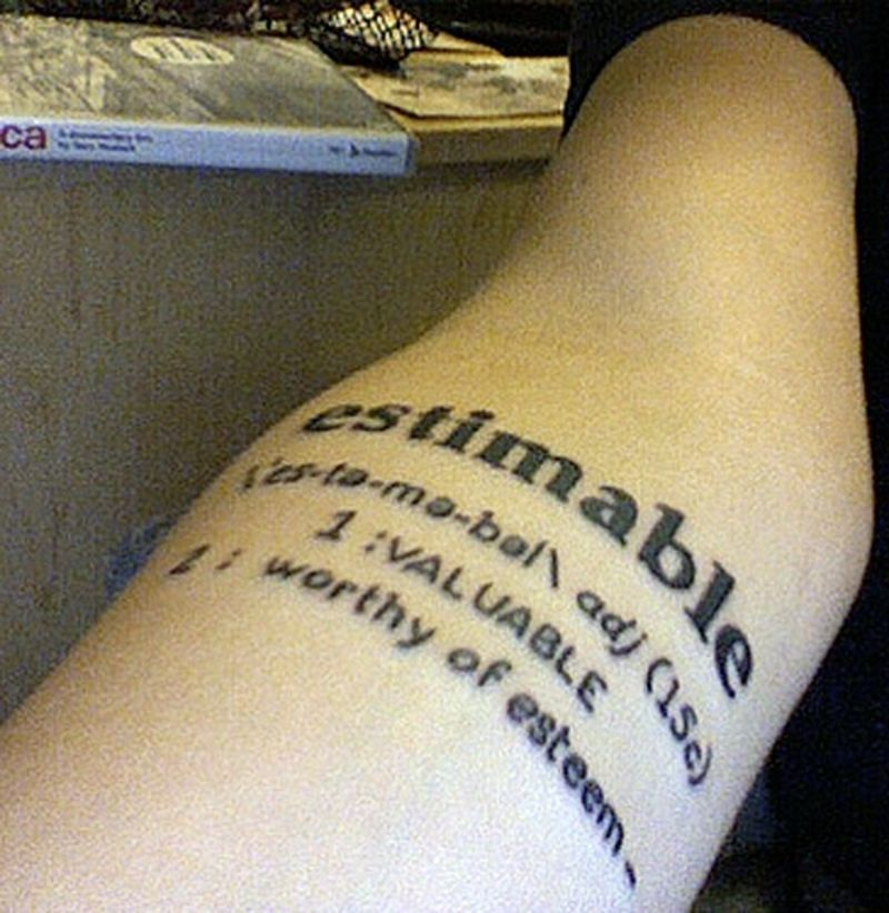 7 Clever Tattoos for People Who Love Literature