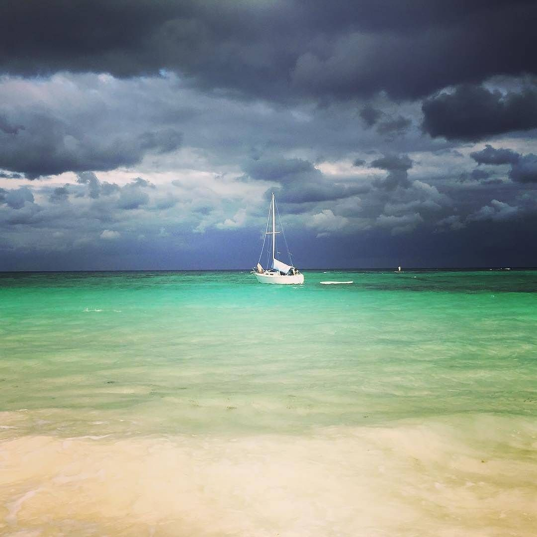 Even when it rains, the Riviera Maya is stunning!