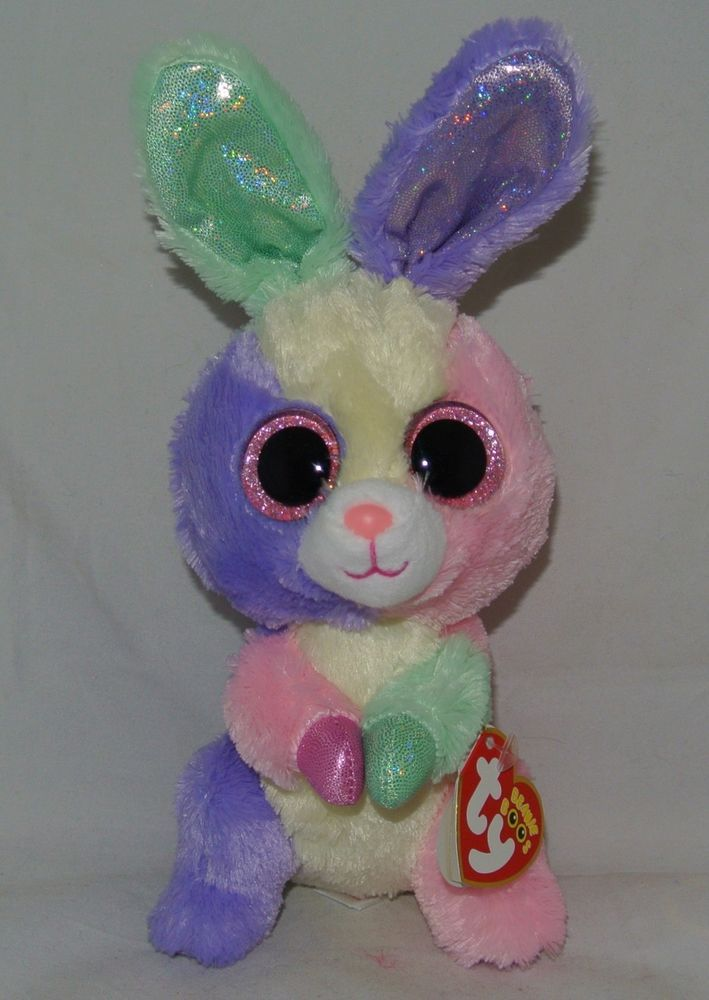 New! 2015 TY Beanie Boos Easter Bunny Rabbit BLOOM 6