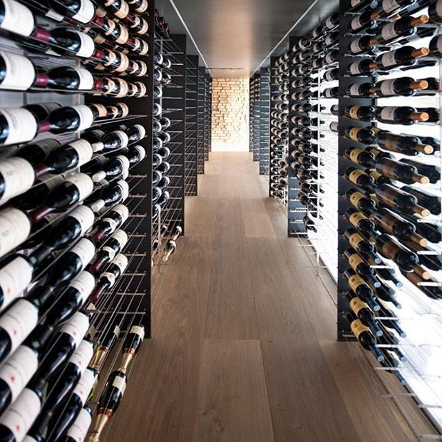 Wine Cellar Wednesday... everyone enjoys a nice glass of wine occasionally and with a cellar like this who can blame us!  #homedesign #lifestyle #style #designporn #interiors #decorating #interiordesign #interiordecor #architecture #landscapedesign by adesignersmind