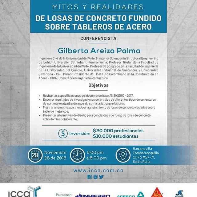 Icca Día De La Estructura Metálica En Barranquilla