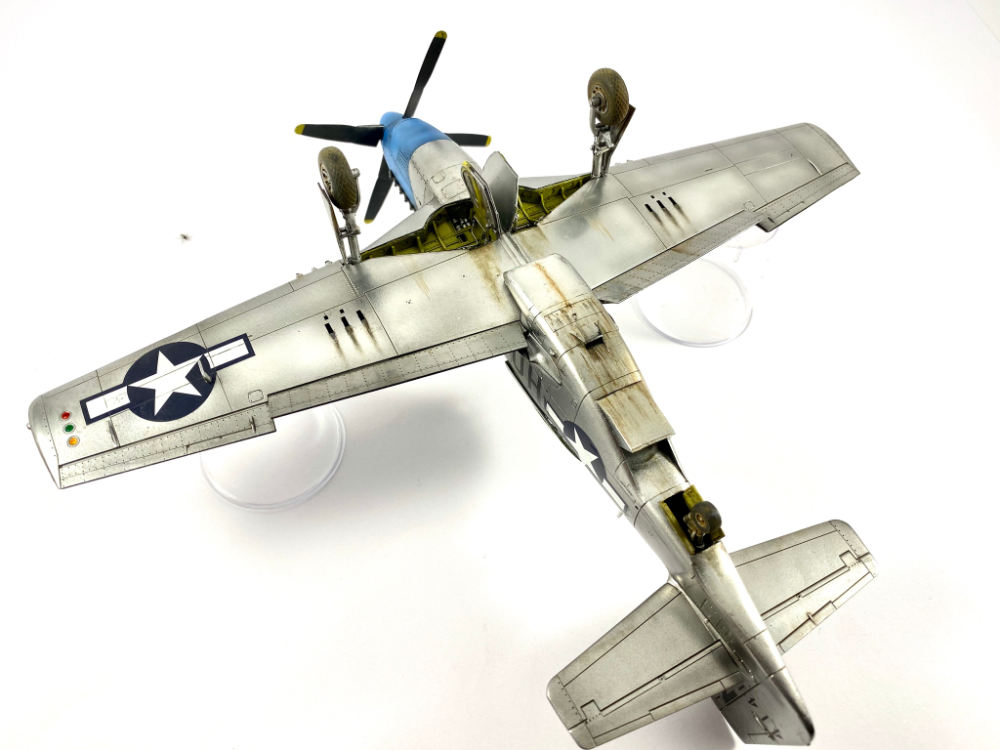 Tamiya P-51D Mustang - 1/48 - Ready for Inspection