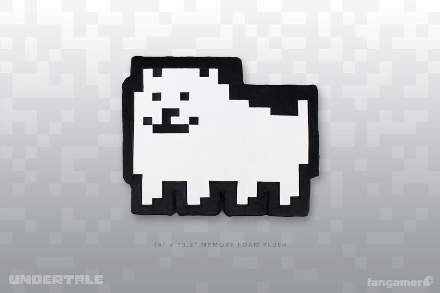 Annoying Dog Memory Foam Plush Undertale Plush Dog Memorial Plush