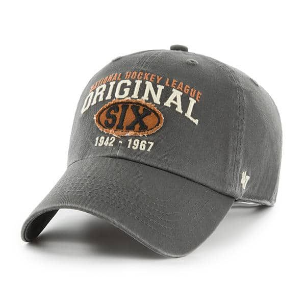 Original Six 47 Brand Henrick Charcoal Clean Up Adjustable Hat ... 2db0b1f622f7
