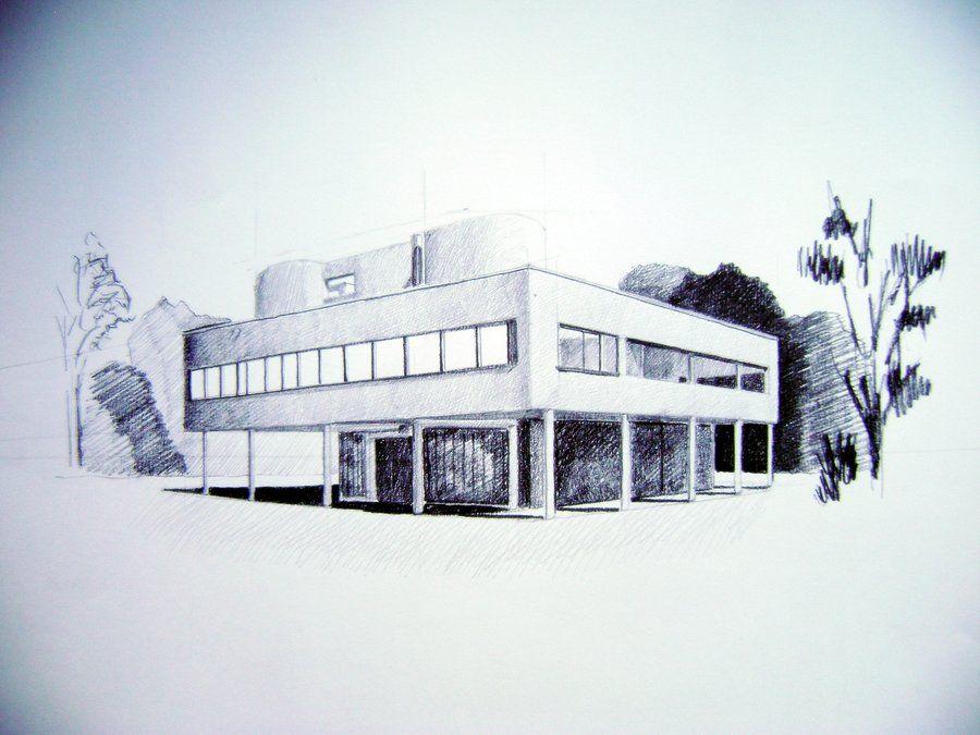 Fabuleux Villa Savoye by Tashiaki on deviantART | Representation  GJ95