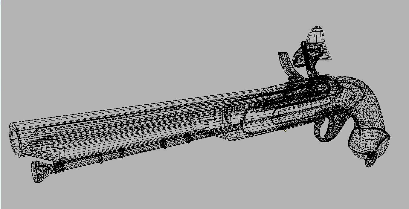 Musket Gun #Musket, #Gun | 3d Design Interior in 2019