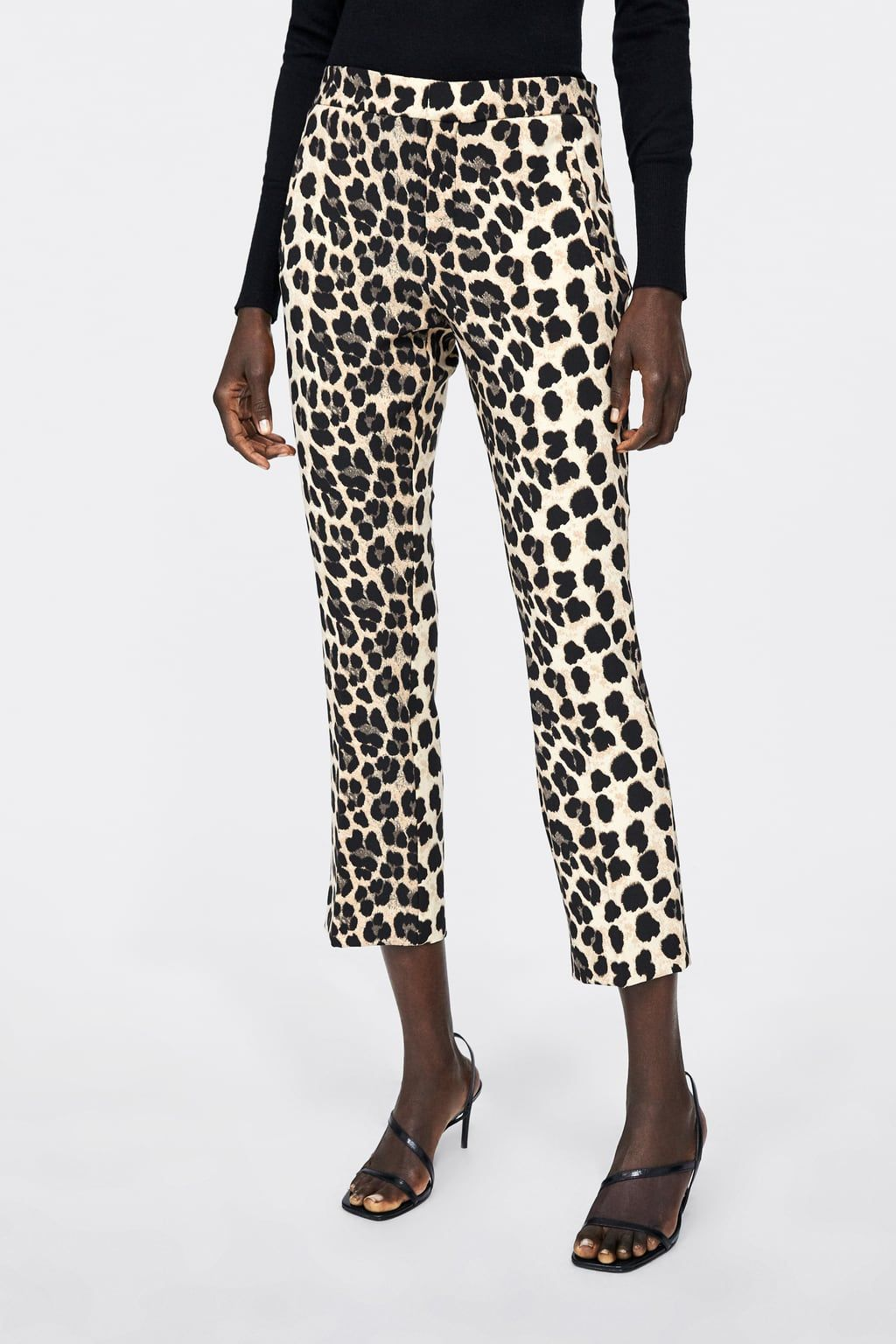 Wonderbaar Image 2 of LEOPARD PRINT TROUSERS from Zara   fashion trends in HB-45