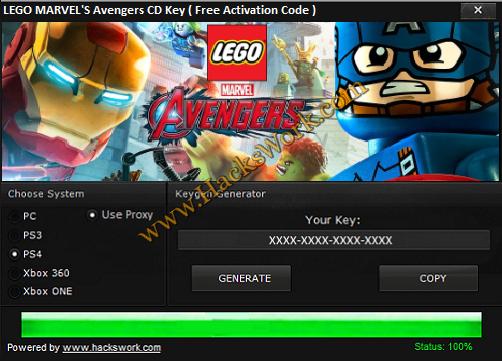 LEGO MARVEL's Avengers CD Key (Code d'activation gratuite) | www ...