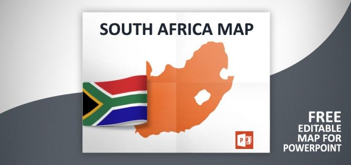 free south africa powerpoint map free maps for powerpoint map
