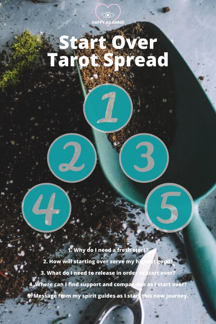 Four tarot spreads for the new moon happy as annie in