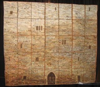 """Castle Wall"" quilt by Trudy Kleinstein"