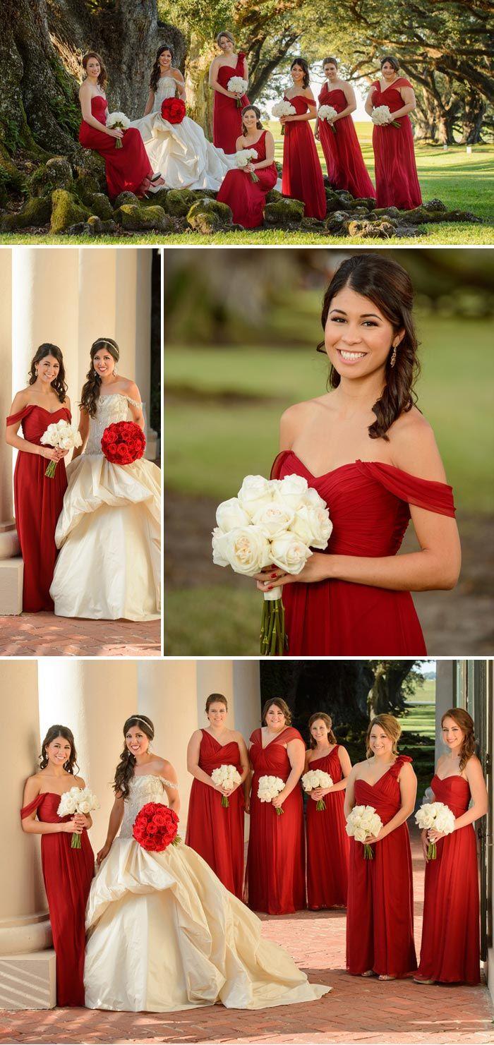 Rot als Hochzeitsfarbe! So wir eure Deko romantisch und elegant