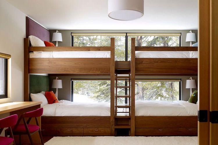 15 Letti a Castello in Legno dal Design Particolare | bunk beds ...