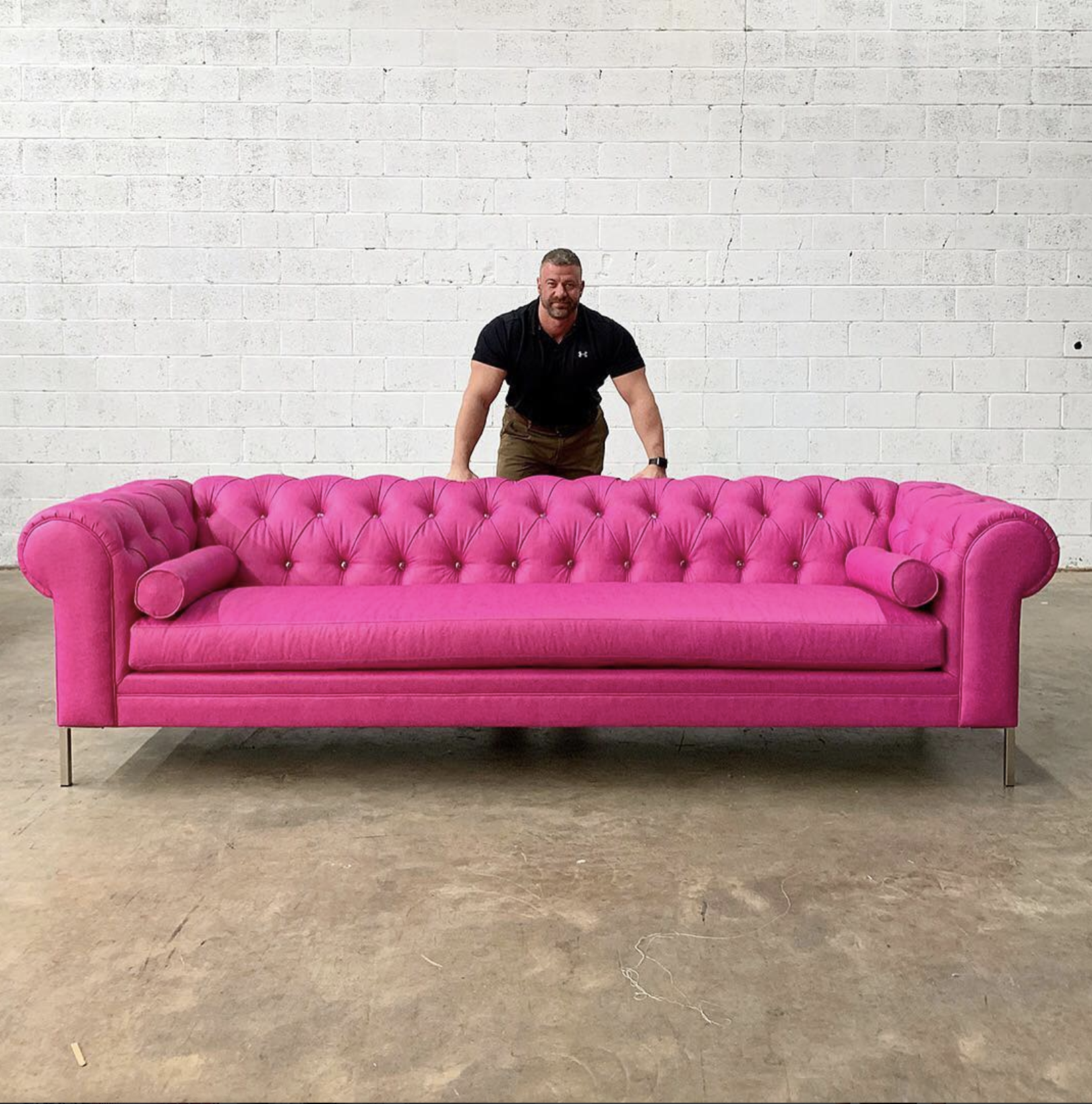 Pink Chesterfield Sofa Tufted Pink Sofa Modern Pink Sofa Pink Chesterfield Sofa Modern Chesterfield Sofa Pink Sofa