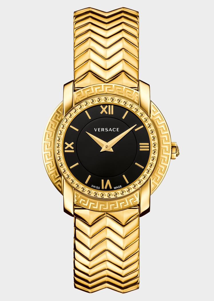 62553146eb Montre à bracelet DV25 cadran noir - Versace Femme | Boutique en ...