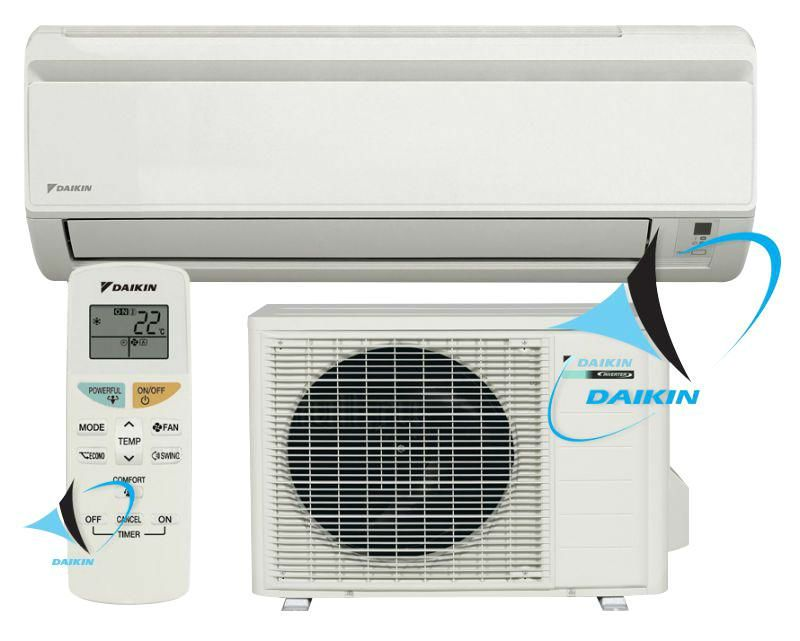 Inverter Air Conditioner Daikin Oki Comfort Ftxn35l Rxn35l With A A Energy Class O Wall Mounted Air Conditioner Air Conditioning Installation Air Conditioner