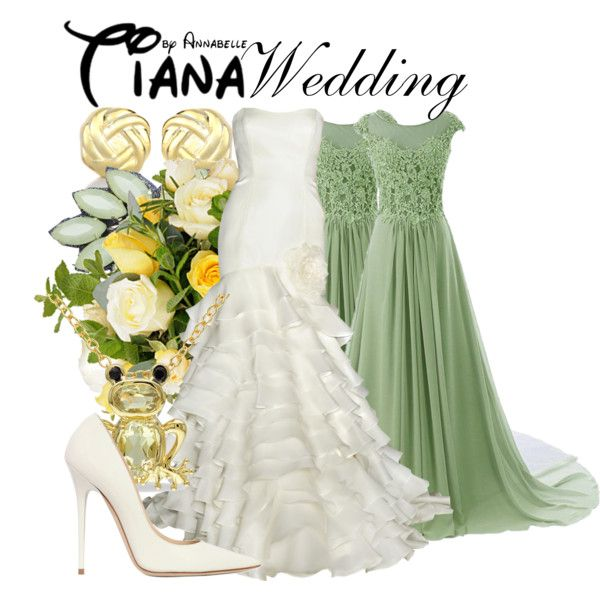 Tiana Wedding By Annabelle 95 On Polyvore Featuring Jimmy Choo