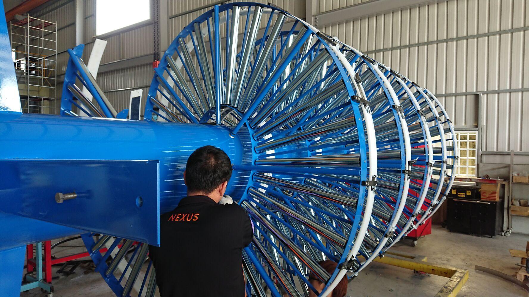 Nexus gravity roller spiral conveyor, high cost performance