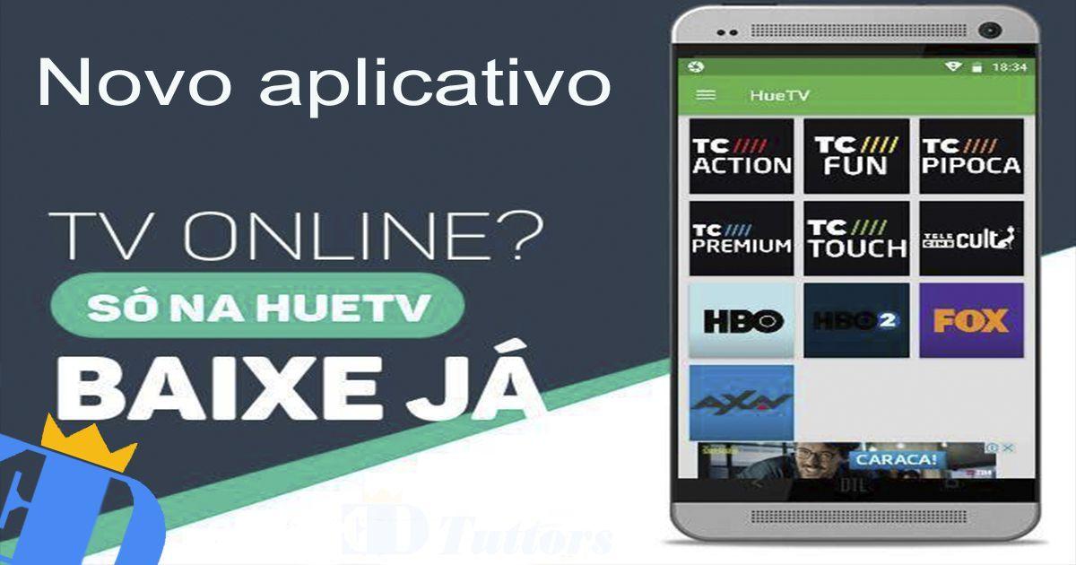 Huetv Beta Apk Novo Aplicativo Para Assistir Tv No Celular