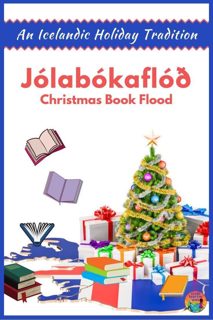 Jolabokaflod An Icelandic Christmas Book Flood Globe Trottin Kids In 2020 Iceland Christmas Holiday Iceland Christmas Books