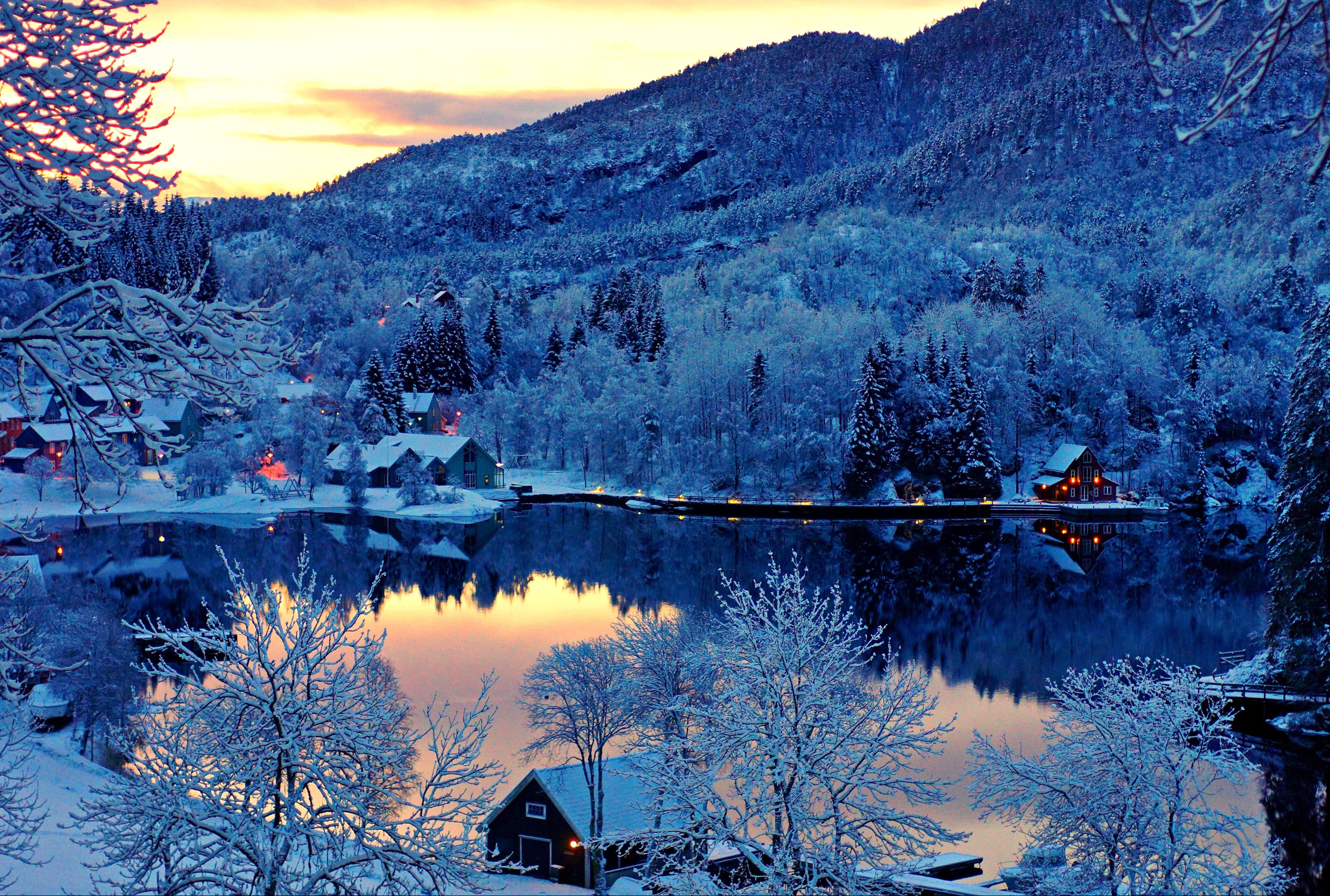 Обои месяц, финляндия. Природа foto 16