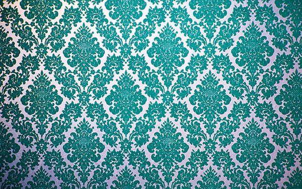 Velvet flocked wallpaper With Blue Color Design. Velvet flocked wallpaper With Blue Color Design   My Dream House