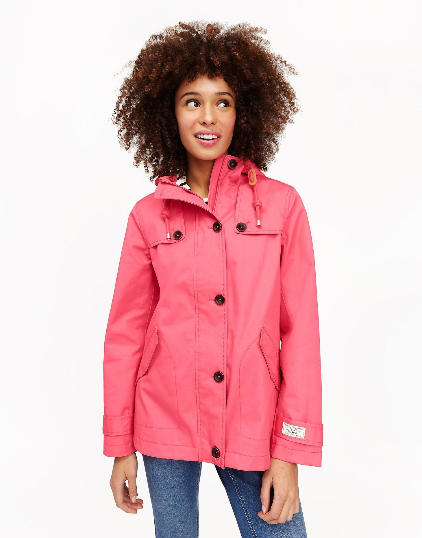Coast Red Sky Waterproof Jacket | Joules US | Waterproof