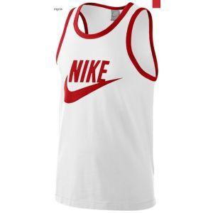 3d074acf653d39 Nike Logo Tank - Men s - Sport Inspired - Clothing - White Sport Red ...