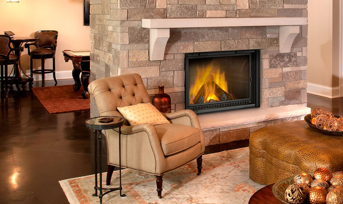 Napoleon High Country 5000 Wood Fireplace Wood Burning Fireplace