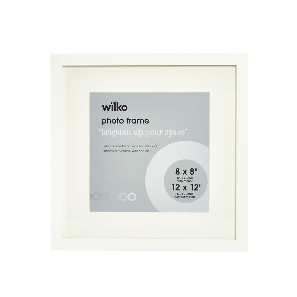 Wilko White Photo Frame 12 x 12in | Hallway | Pinterest | White ...