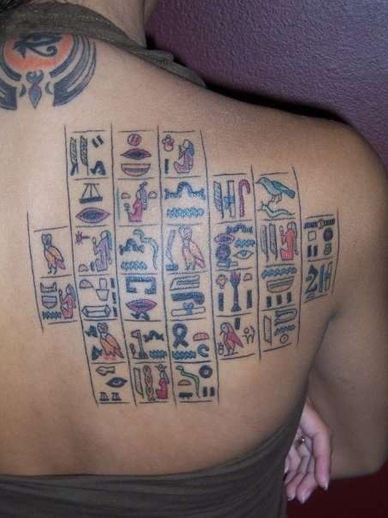 1a00973ff1598 Egyptian Hieroglyphics Tattoo Designs Swiftlet | Tattoo Designs ...