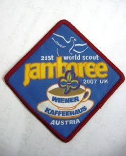2007 new 21st World Scout Jamboree Pin badge UK Contingent