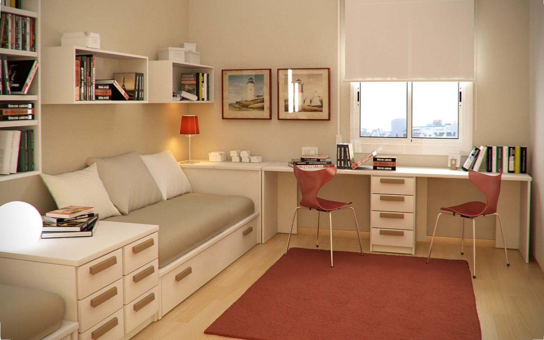 Kids Bedroom Neat Long Desk For Kids Bedroom With Cream Finish Inside Kids Room Desk Jpg 1500 939 Home Office Design Study Room Design Home