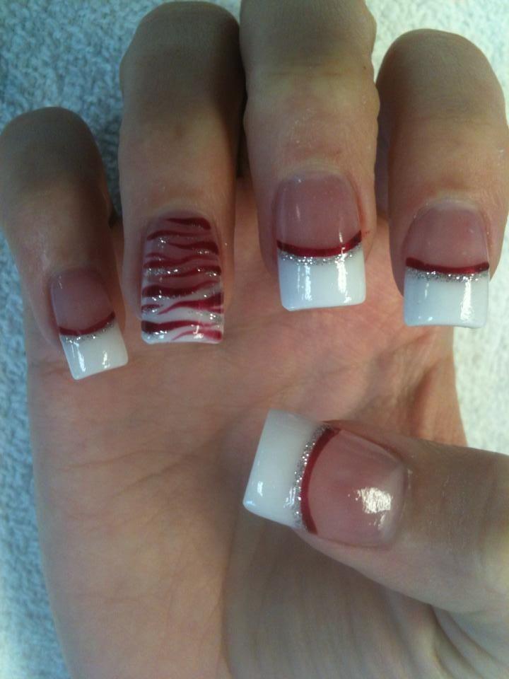 Christmas Nails | nail art 4 holidays | Pinterest | Manicure, Nail ...