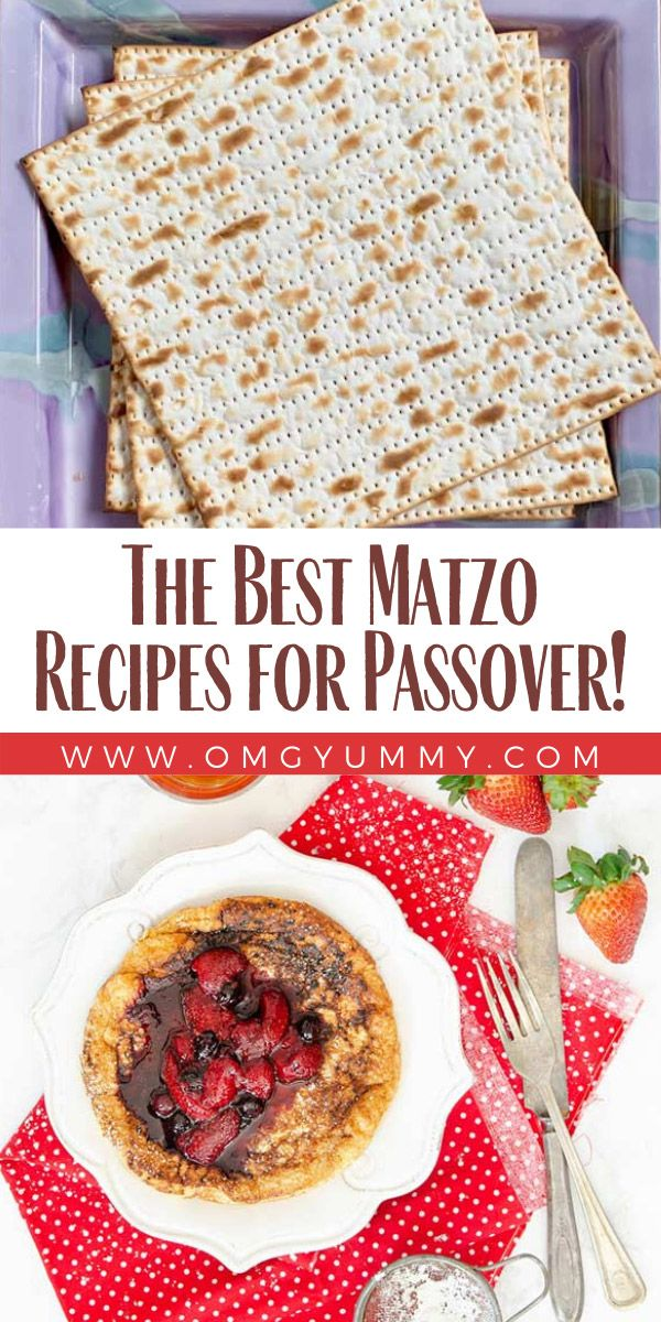 The Best Matzo Recipes for Passover OMG! Yummy in 2020