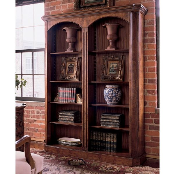 tall bookcase double nathan bookcases furniture teak product editions