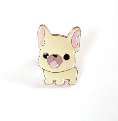 Cute Coffee Mug Wallpaper French Bulldog Dog Enamel Pin Brooch Cute Kawaii Japanese