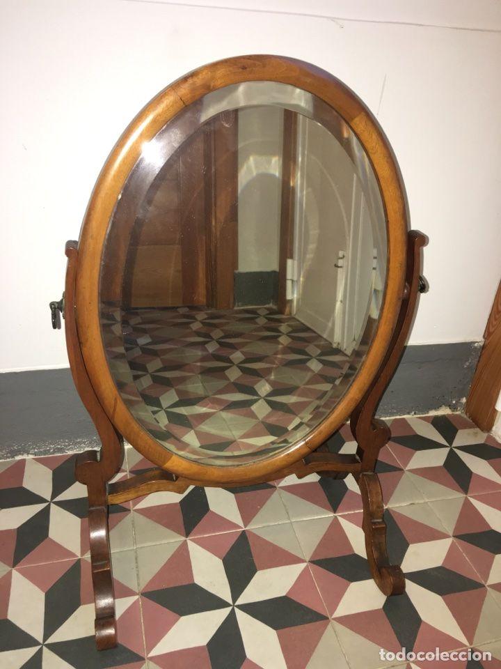 Antiguo espejo oscilante en caoba victoriano | Pinterest | Espejos ...