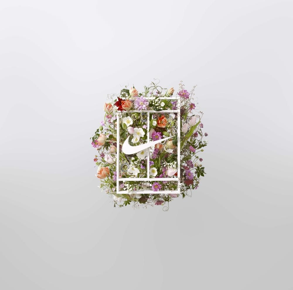 Image Result For Nike Court Logo Floral Summer Icon Botanical