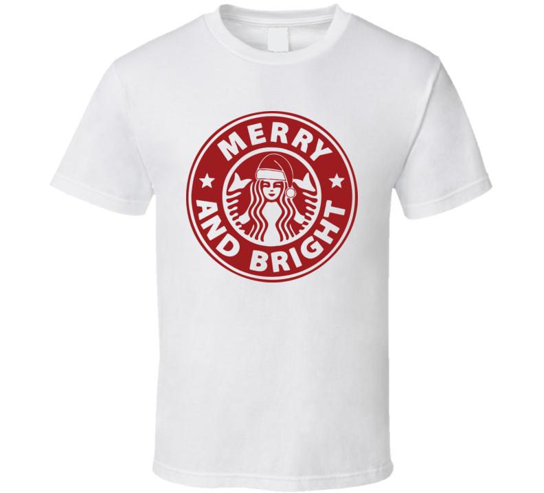 Merry And Bright Starbuck Christmas Starbuck Logo