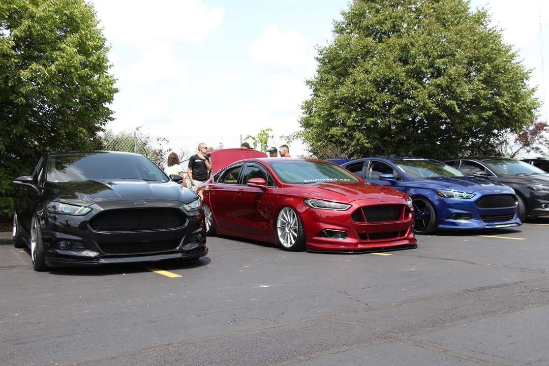 car show stuff. 2GFusions Ford fusion